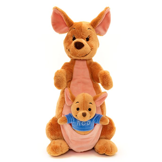 Disney Kanga Soft Plush Toy - Winnie the Pooh Kangaroo Stuffed A