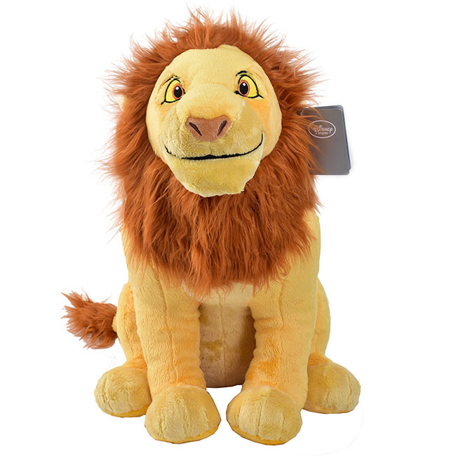 Disney Large Simba Stuffed Animal - Lion King Adult Simba Plush Toy
