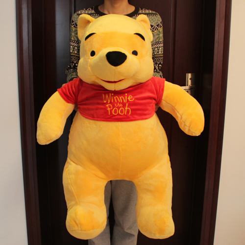 Disney Giant Winnie the Pooh Plush Toy - Pooh Bear Stuffed Animal