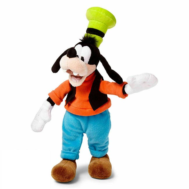 Disney Goofy Soft Plush Toy - Small Mickey Friend Stuffed Animal