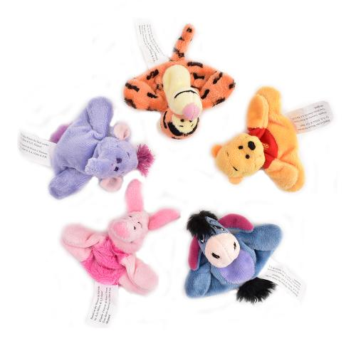 Disney Winnie the Pooh Plush Magnets Piglet Tigger Eeyore Lumpy