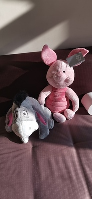 review Disney Piglet Soft Plush Toy - Winnie the Pooh stuffed Animal 2